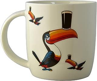 Guinness Mug Standing Toucan (White)