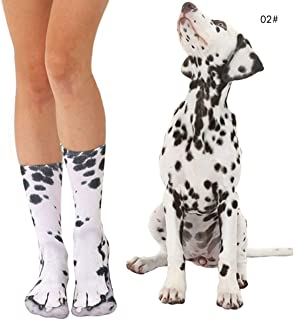 Best dalmatian print socks Reviews