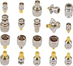 SMA to N BNC TNC F Type Connectors Kits N to SMA BNC to SMA TNC to SMA RF Adapter 20 Type …