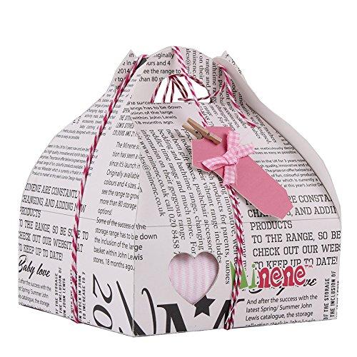 Boîte Cadeau Fille (body+pantalon+chaussettes+grigri c?ur) rose
