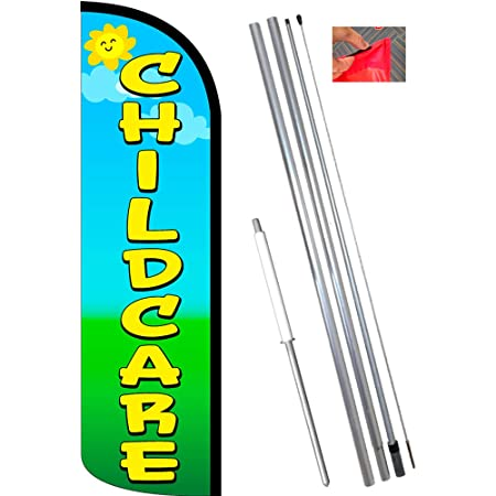 CABINETS WINDLESS FEATHER FLAG POLE MOUNT KIT Tall Advertising Banner Sign