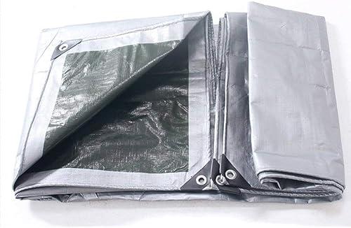 ATR Tissu antipluie imperméable à l'eau Tarpaulin Mat de Pique-Nique imperméable en Plein air Double Face Cargaison étanche à l'humidité Cargo Anti-poussière Haute température Anti-vieillissemen