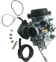 KIPA Carburetor For Suzuki LTZ400 LTZ 400 Quadsport 2003-2007 Arctic Cat DVX400 2004-2007 Kawasaki KFX400 2003-2006 with Vacuum Pipe
