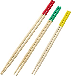 パール金属 Easy Cooking 竹製料理用箸セット 大・中・小 C-8771