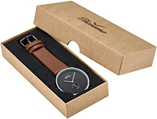 Charisma Dress Watch For Men Analog Leather - C1006BRB
