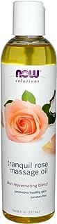 محلول زيت زهور للمساج والتلطيف من ناو فودز، 8 اوقية سائلة، 237 مل