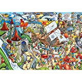 Pieces of Adult 1000 Puzzle, Theme Park, Amusement Park, Fun Puzzles, Wooden Puzzle- Educational Toys and Gifts for Adults and Teenagers Ldeal for Relieving Pressure Under Work and Quiet Mind