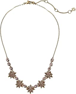 Crystal Star Frontal Necklace