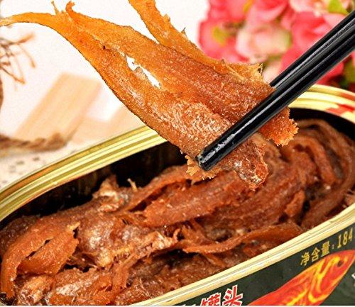 缶詰アンチョビ18缶総正味重量3312 g(184gX18缶)、南シナ海南海から魚介類