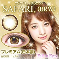 カラコン 度あり 度なし 2枚入り フォーリンアイズ Fall in eyes 14.0mm 8.6 (-6.00)