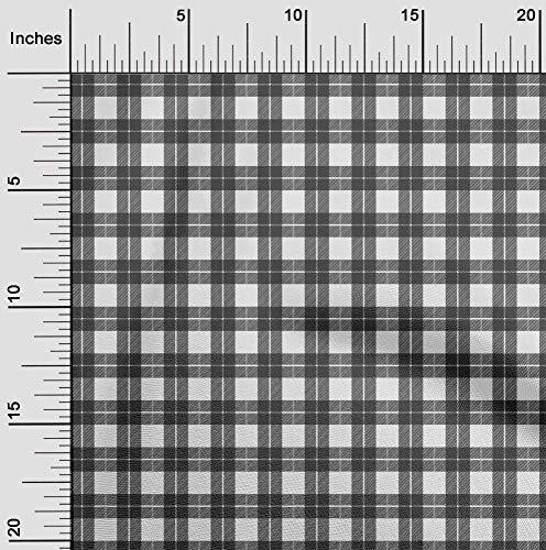oneOone Flex Algodón Blanco Tela Controlar Tela De Costura Por El Medidor Impreso Suministros De Costura De Ropa De Bricolaje 40 Pulgada De Ancho