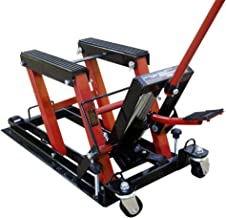 Portable Motorcycle Lift Table Hydraulic Motorcycle Scissor Jack with 1,700LBS Load Capacity Red Motorcycle Lift Stand Must-Have in Garage VEVOR Motorcycle Jack Adjustable Motorcycle Lift Jack