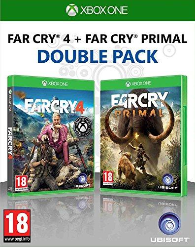 Ubisoft Far Cry 4 + Far Cry Primal, Xbox One Básico Xbox One Francés vídeo - Juego (Xbox One, Xbox One, FPS (Disparos en primera persona), M (Maduro))