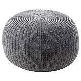 IKEA.. 303.639.66 Sandarter Hocker, Grau