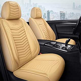 All Seasons Leather Car Seat Covers 5 Seats Universal Fit Saloon SUV and Small Pick-Up Truck for Fo - rd Ren - ault Toy - ...