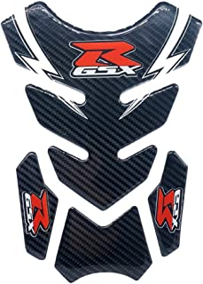 Kyobusa Motorcycle Carbon Fiber Gas Fuel Tank Decal Sticker Protector Logo Pad for Suzuki GSXR 600 750 1000 1300 Gixxer Hayabusa