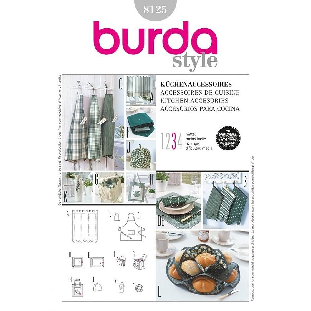 Burda Style, Kitchen Accessories Sewing Pattern 8125 bnewetchzww20