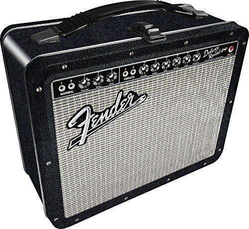 Aquarius Fender Amp Large Gen 2 Tin Storage Fun Box,Multi-colored,3'