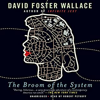 The Broom of the System     A Novel              By:                                                                                                                                 David Foster Wallace                               Narrated by:                                                                                                                                 Robert Petkoff                      Length: 16 hrs and 30 mins     404 ratings     Overall 4.0