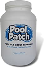 Pool Patch White Pool Tile Grout Repair Kit, 10-Pound, White