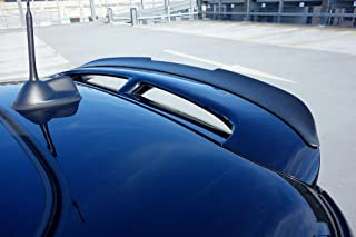 Goingfast.com 100 Limited Edition Euro Hatch Rear Roof Spoiler Extension Wing Trim Lip for Mini R56 S/JCW