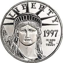 1997 P $50 Platinum Eagles Platinum Eagle Fifty Dollar MS69 NGC