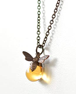 brass bee charm