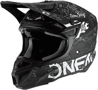 """O""""NEAL   Motocross-Helm   Motocross Enduro   2 Außenschalen & 2 EPS für erhöhte Sicherheit, Schale aus ABS, Nasenschutz aus Gummi   5SRS Polyacrylite Helmet HR   Erwachsene"""