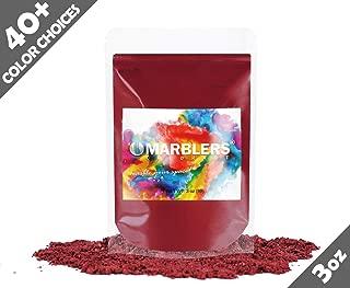 red ochre pigment powder