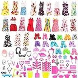 Miunana 123 Accesorios: 15 Vestidos + 108 Accesorios Seleccionado Al Azar Fashion para 11.5 Pulgada 30CM Muñeca
