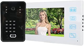 Portero automático impermeable TFT LCD de 7 pulgadas, para apartamentos(European regulations)