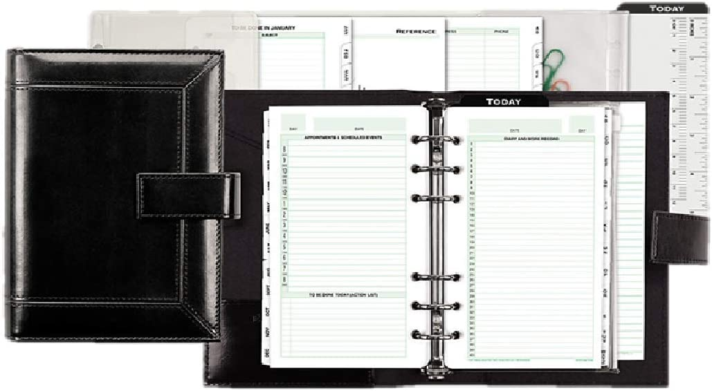 Day Super popular specialty store Timer Regular store Personal Organizer System - Binder with Nylon Vinyl 1