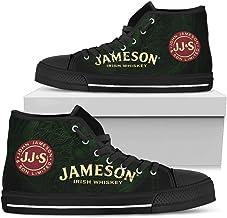 TeeKP Jameson DarkGreen Celtic Art Shoes Gift Idea for Who Love Jameson Irish Whiskey