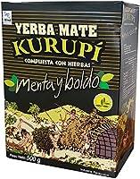 Yerba Mate Kurupi Menta e Boldo - (caixa c/ 12 un. de 500 grs)