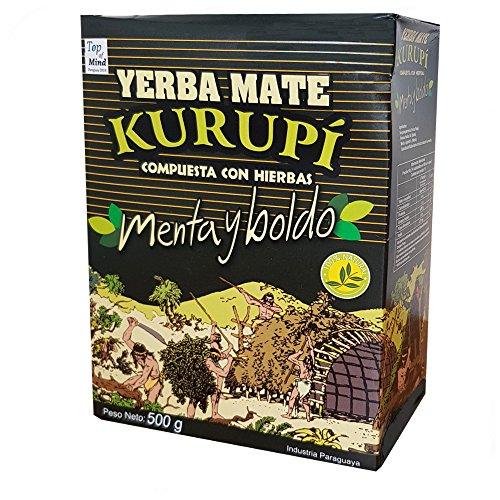 Kurupi Compuesta Especial - Menta y Boldo - Mate Tee aus Paraguay 500g
