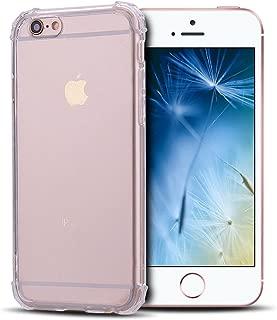 Anfire Funda iPhone 6 / 6S Plus, Carcasa de Transparente y Suave Silicona Case, Flexible Gel TPU Ultra Ligero [Esquinas Reforzadas] Bumper Caja Claro landBo Cparaaso Cubierta Trasero - Transparente