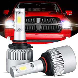 GTP 9006 HB4 LED Headlight Bulbs All-in-One Conversion Kit CSP Chips 6000K Cool White Low Beam Fog Light 72W 8000LM