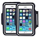 [2 pack]Premium Running iPhone 6S 6 (4.7') iPhone 6S plus(5.5')Sports armand,iPhone 5/5C/5S 4, 4S samsung Galaxy S3, S4 s5 s6 s7, Water Resistant Proof Key HolderID Credit Card Money Holder