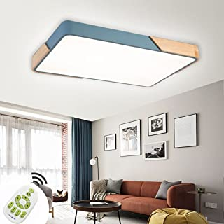 CASNIK Plafonnier de LED,Moderne LED Plafonnier Luminaire Intérieur Dimmable Lampe de Plafond pour salon, Cuisine,chambre ...