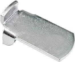 Hettich vloerdrager Vari 11 mm voor 16 mm brede rails, chromatiseerd, 10 stuks