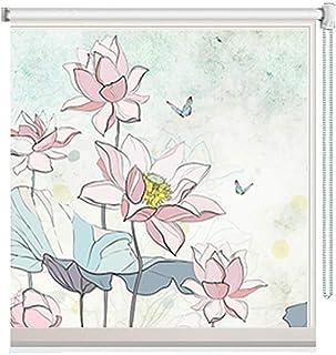 Estor Enrollable Opaco Flores Modelo Persianas para Ventanas