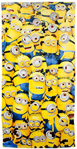 United Labels Serviette de Plage Team Minions - Les Minions