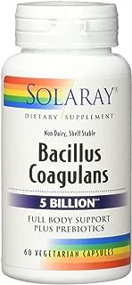 Solaray Bacillus Coagulans VCapsules, 60 Count