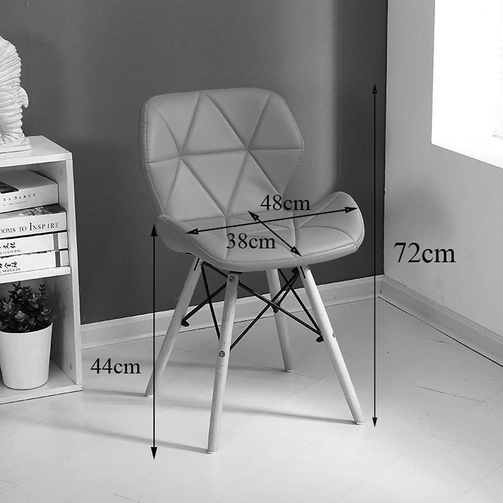 Chaises de salle à manger Cuisine Comptoir de Cuisine Salon de Bureau Chaises de Salon Fauteuil de Baignoire Fauteuil avec Dossier et accoudoirs/Loading 150kg / Hauteur: 72cm Black