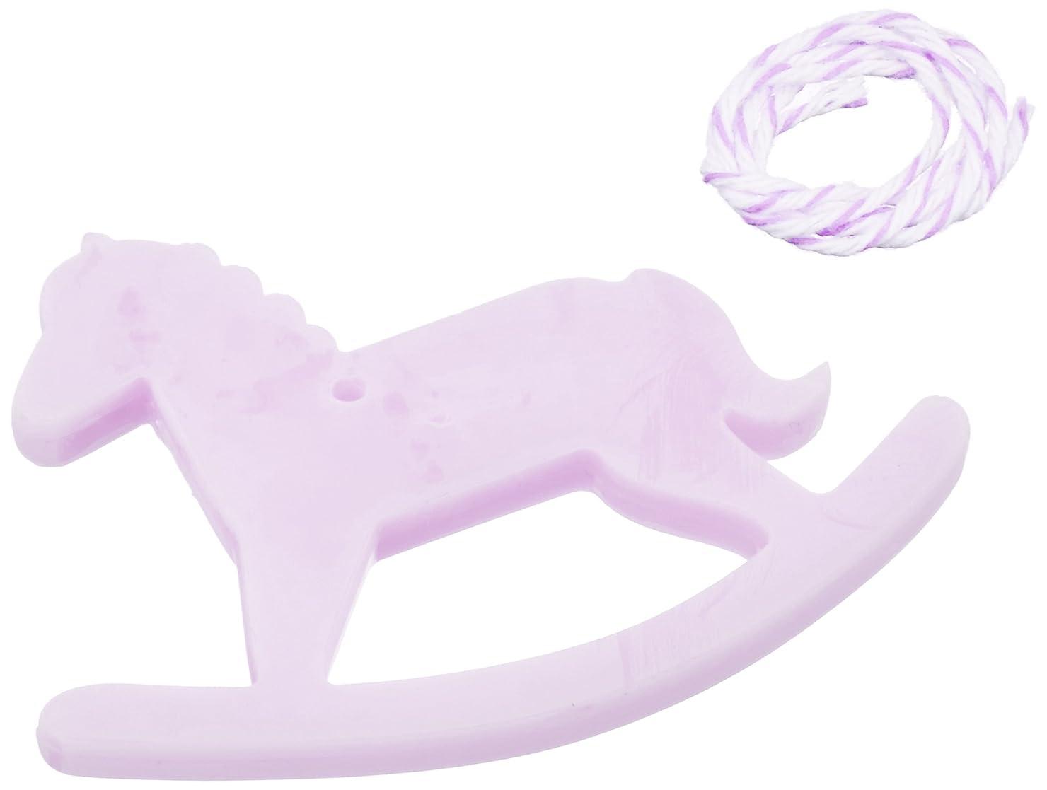 砲撃ルーチンリフレッシュGRASSE TOKYO AROMATICWAXチャーム「木馬」(PU) ラベンダー アロマティックワックス グラーストウキョウ