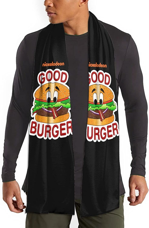 Hiacpy Good Burger Dot Winter Fall Fashion Scarf Warm Long Soft Neckerchief for Men and Women One Size