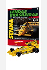 Lotus 99T. Ayrton Senna - Lendas Brasileiras do Automonilismo. 2 Capa comum