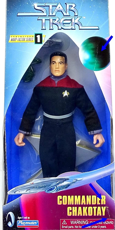 Star Trek Voyager Warp Factor Series 1 23cm Commander Chakotay Action Figure