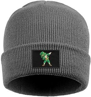 2d9a39bba89 Custom Jersey Style St Patrick s Day Saint Pattys Winter Hat Knit Skull Beanie  Hats Winter Ski