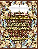 Boho Decor Notebook: Composition notebook boho decor wide ruled paper journal for teachers, students and kids. Perfect for home, school and work. Wide ruled paperback size 8.5 x 11 120 Pages